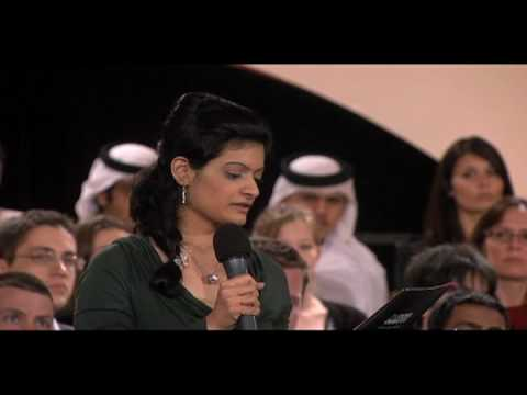 Embedded thumbnail for BBCDohaDebates - December 14, 2010 - Series 6 Episode 3 (Part 4)